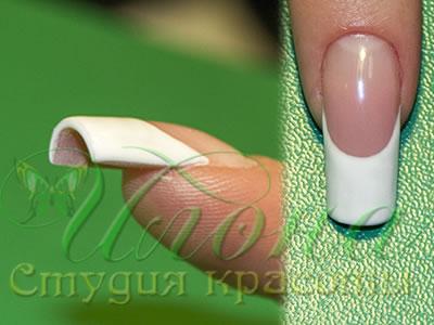 Как сделать арочные ногти гелем
